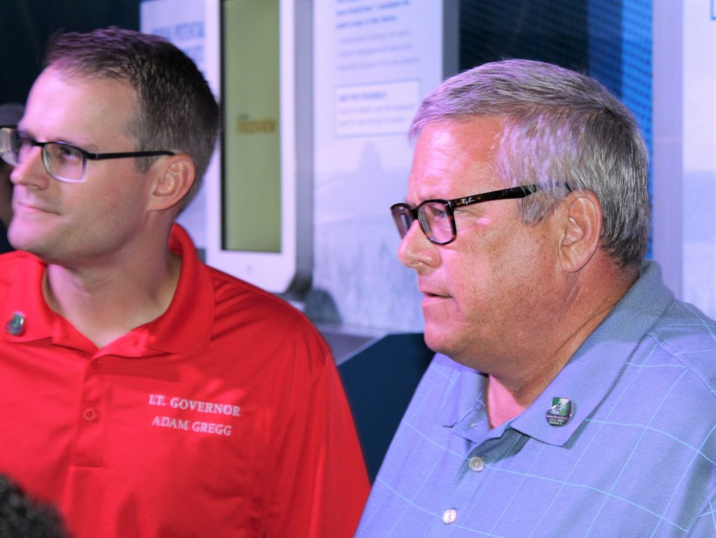 Sec. Bill Northey at the Farm Progress Show in Decatur, Ill.