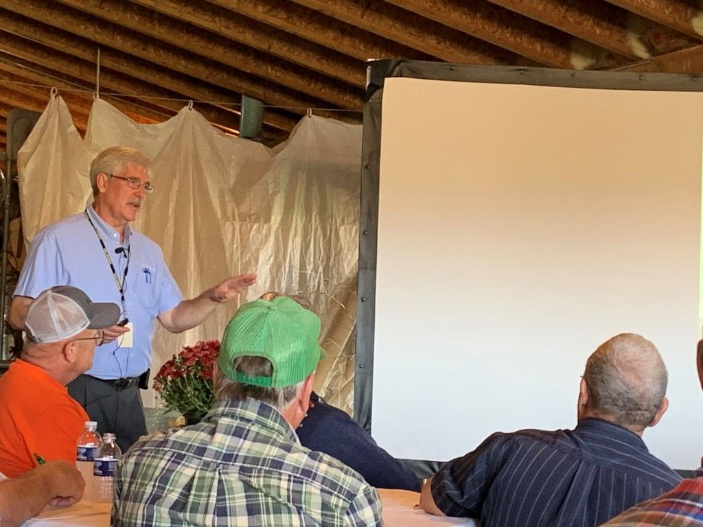 Craig Anderson of Michigan Farm Bureau at the Calhoun County Field Day | Photo: Ashley Davenport