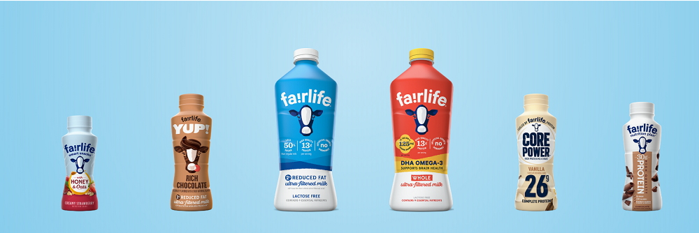 fairlife LLC milk products. Credit: fairlife.com