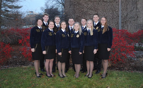 2019-2020 Michigan State FFA Team | Photo: Michigan FFA