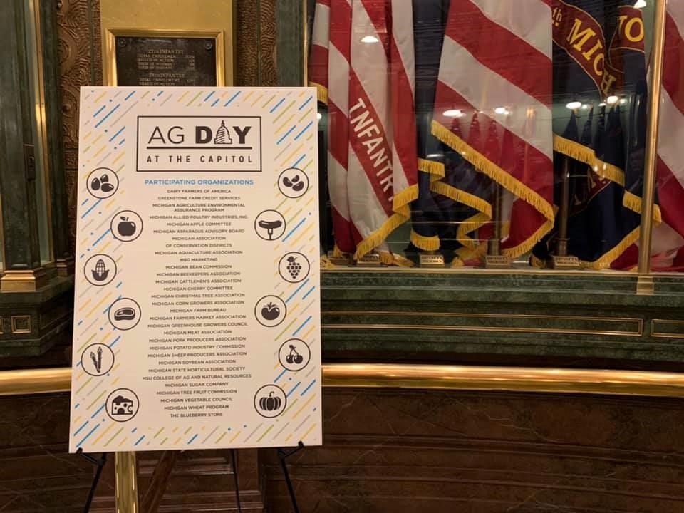 Michigan Farm Bureau's Ag Day at the Capitol 2020   Photo: Ashley Davenport