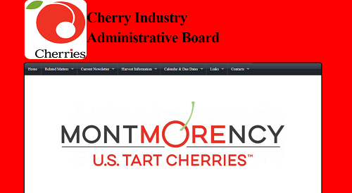 Cherry Industry Administrative Board website