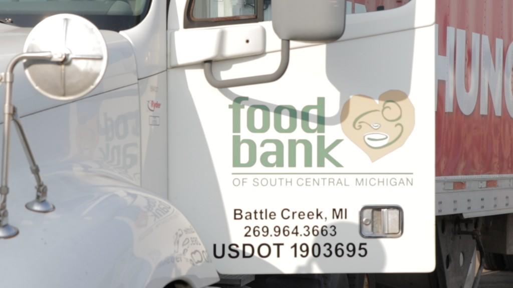 Food Bank of South Central Michigan truck | Photo: Michigan Farm Bureau