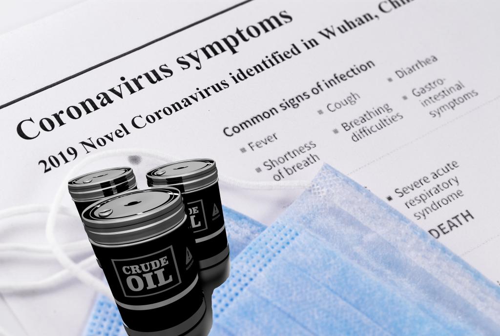 coronavirus and crude oil