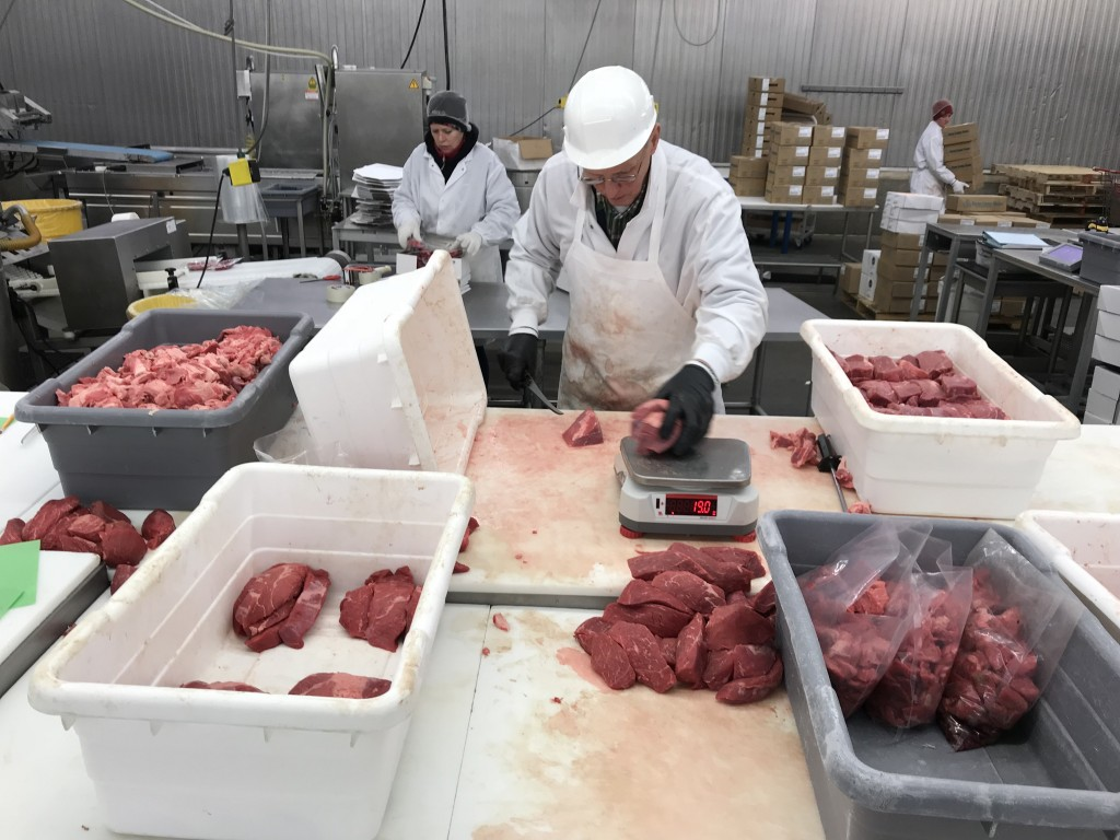 Byron Center Meats is one of the processing plants in Michigan who will hopefully keep their doors open while practicing safety guidelines to protect workers against the spread of COVID-19. Photo courtesy: Michigan Farm Bureau