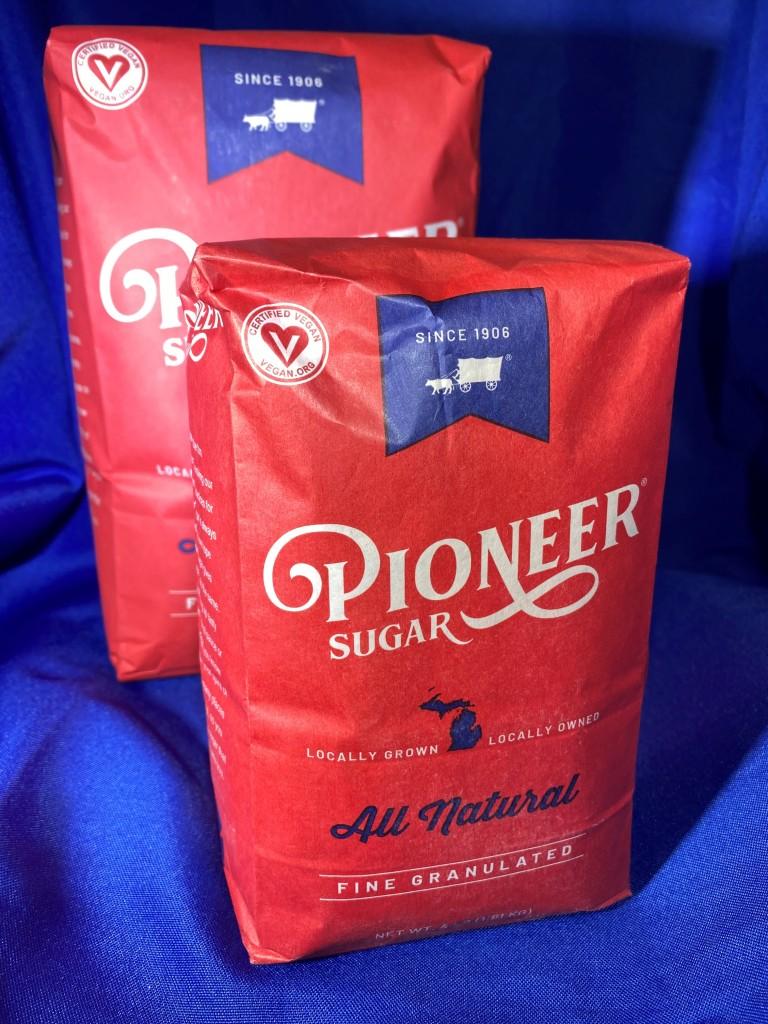New Pioneer Sugar bags. Photo: Michigan Sugar