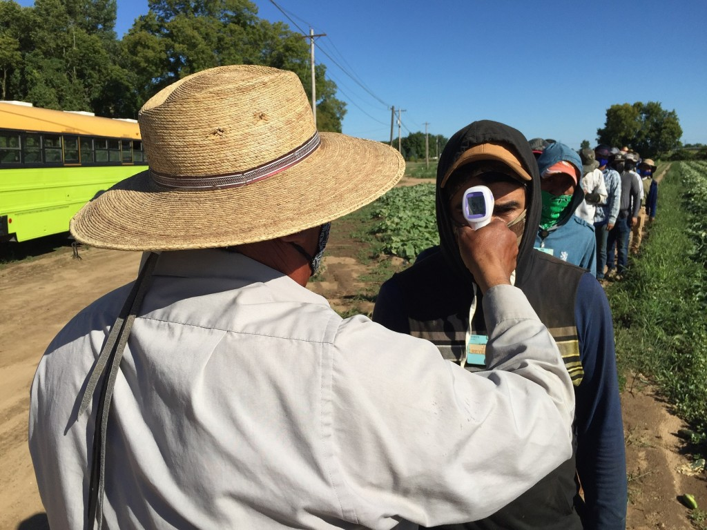 According to the complaint, farm employers and farmworkers have been employing COVID-19 prevention practices, both at work and outside of work, well before the MDHHS Emergency Order was put into place including wearing masks, social distancing, and utilizing disinfectants. (Farm News Media)